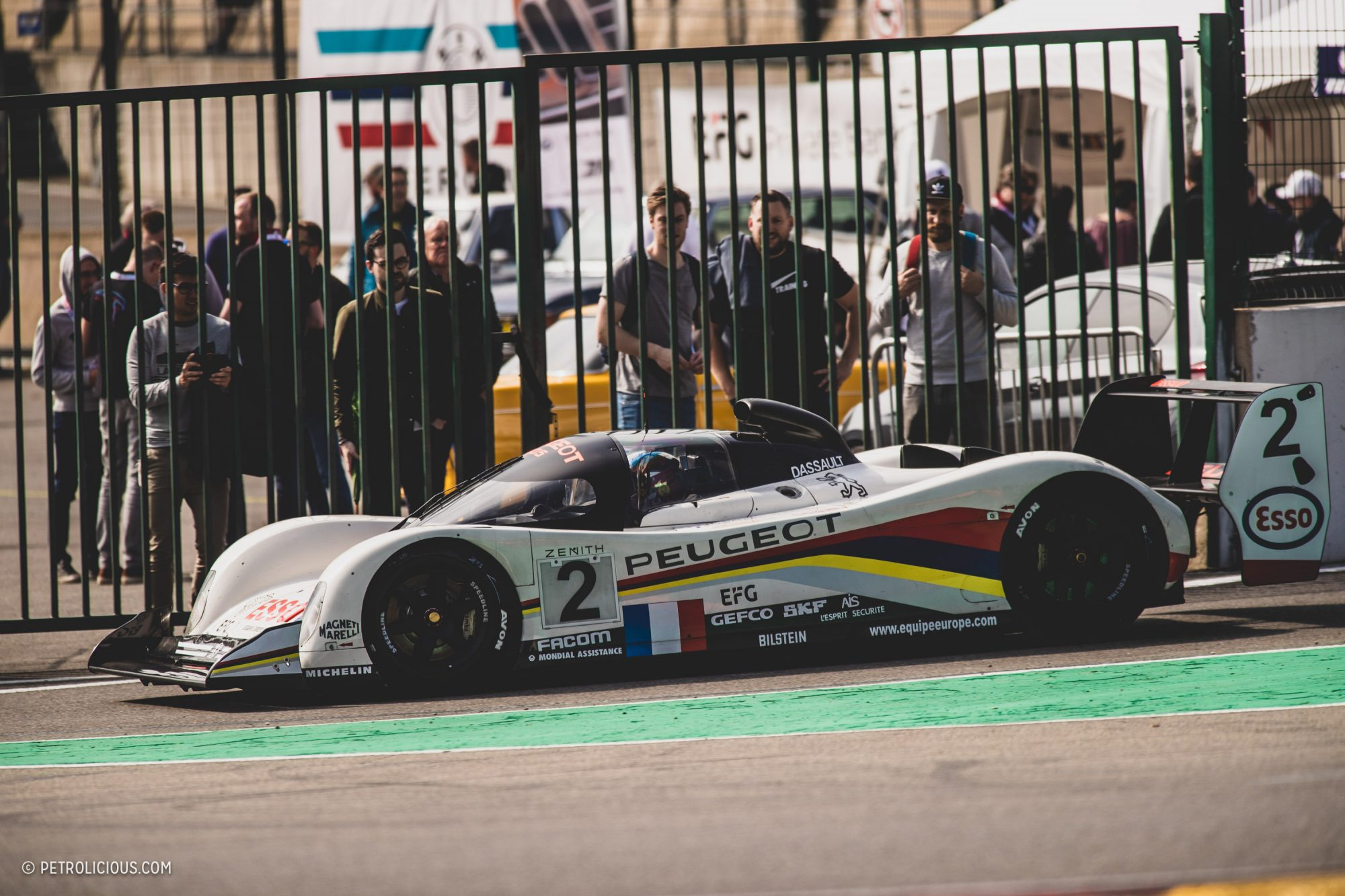 The Peugeot 905 Evolved Into A Two-Time Le Mans Winner ...