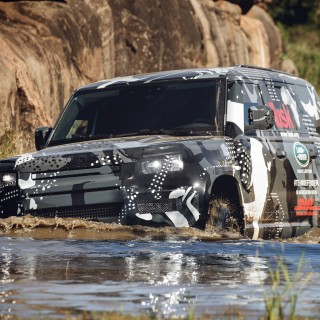 Forthcoming Land Rover Defender Completes Tough Kenyan Terrain Testing To Support Lion Conservation