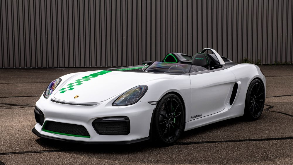 The 981 Bergspyder Is The Ultimate Porsche Boxster That
