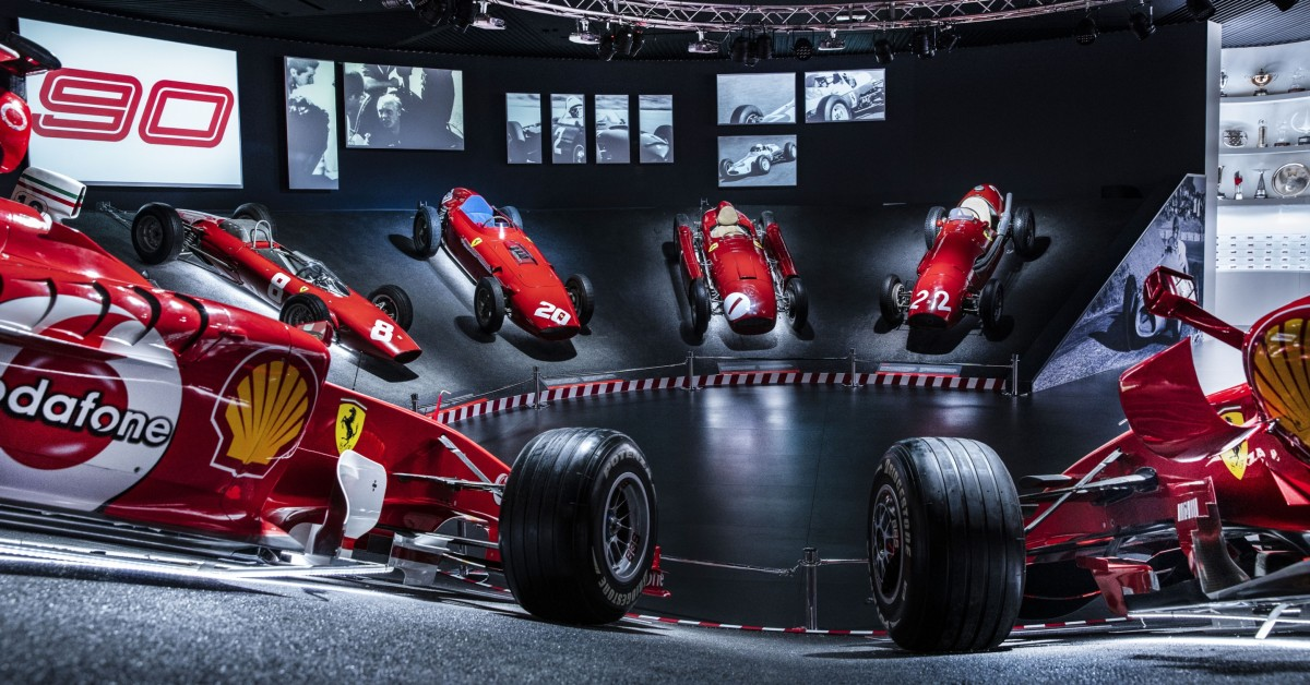 Ferrari Museum Celebrates 90 Years In Motorsport With Special Exhibition Of Racing Cars From F1 And Beyond Petrolicious