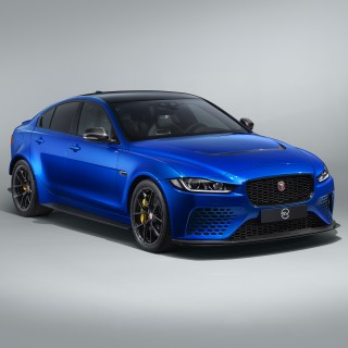 Jaguar Releases Q-Car Edition Of Its Fire-Breathing XE SV Project 8 Sedan