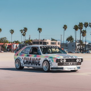 The Million Dollar Scirocco Is Both A Customized Drag Racer And An Art Car With A Message