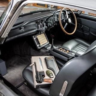 The Original Aston Martin DB5 Bond Car Is Heading To Monterey This August To Find A New Owner