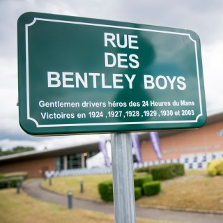 Le Mans Renames Street In Honor Of Bentley Boys As Part Of Marque's Centenary Celebrations
