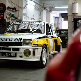 GALLERY: Go Behind The Scenes On Our Renault 5 Turbo Tour de Corse Film Shoot