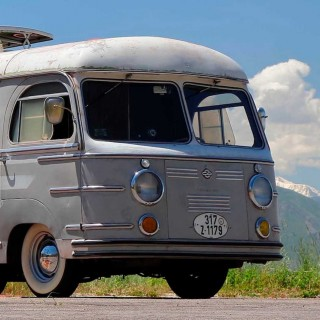 This Porsche-Powered Camper Van From The 1950s Is As Cool As Family Transport Gets