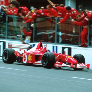 Michael Schumacher's Most Dominant F1 Ferrari To Be Auctioned At This Year's Abu Dhabi Grand Prix By RM Sotheby's
