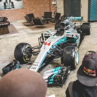 Lewis Hamilton's F1 Mercedes Leads Line Up At This Sunday's First Bicester Heritage Super Scramble