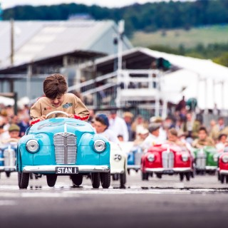 A Children's Race Is Coming To Chelsea This Weekend—For A Place On The Goodwood Revival Grid!