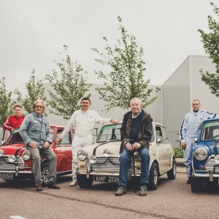 A Double Celebration By Mini Honored Its Innovative Cars And The Movie That Helped Make Them A Global Success