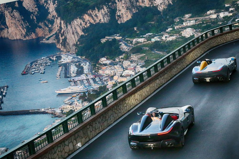 When 100 Ferraris Go On Tour Around Italy The Pictures Are Guaranteed To Be Spectacular Petrolicious