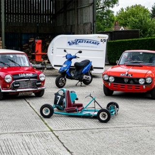 "British Racing Icon Barrie ""Whizzo"" Williams' Car Collection To Be Auctioned At Silverstone Classic"
