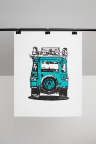 Land Rover (Teal)