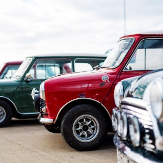 An Appropriate 60 Minis Will Race On Track For Mini's 60th Birthday At Silverstone Classic