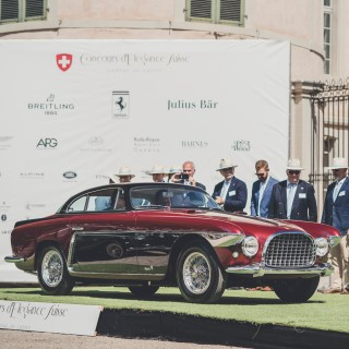 Ferrari 250 GT Europa Takes Top Honors At The Latest, And Newly Aesthetics-Minded, Concours D'Elégance Suisse