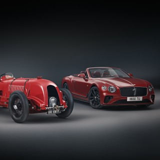 Bentley Continental GT Convertible Number 1 Edition Pays Homage To Legendary 1929 Original