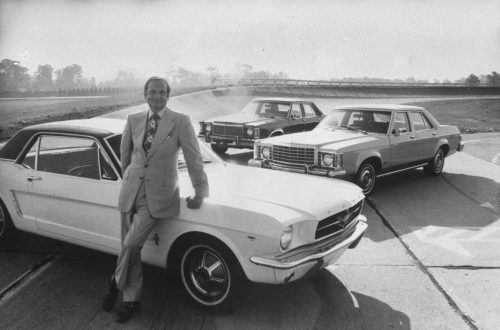 Lee Iacocca Mustang >> Auto Industry Legend Lee Iacocca The Father Of The Mustang Has