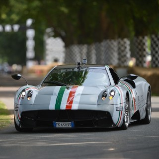 Pagani Continues The 20th Anniversary Celebrations Of Its First Production Model In Style At The Goodwood Festival Of Speed