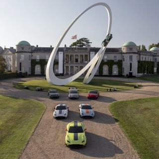 Goodwood Festival of Speed Central Feature And Limited-Edition Vantages Celebrate Aston Martin's Racing History