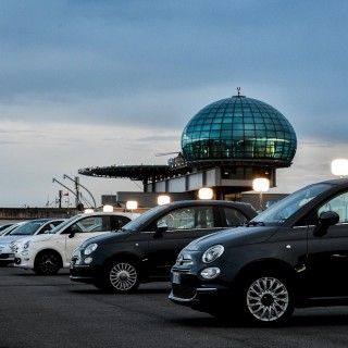Fiat Celebrated the 62nd Birthday Of The 500 On The Rooftop Of Its Lingotto Factory