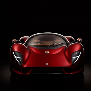 De Tomaso Reveals Its New P72 Supercar, A Homage To The P70 Prototype Intended For Carroll Shelby