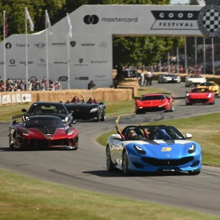 Ferrari Debuted Three Special Project Cars And A Whole Lot More At The Goodwood Festival Of Speed