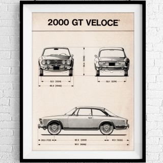 Celebrate Iconic Two-Liter Alfa Romeos With Screen Prints From Live Vintage Gallery