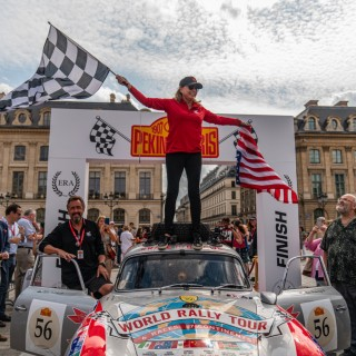 Renée Brinkerhoff Completes Peking-To-Paris Rally In Porsche 356 To Fight Against Human Trafficking