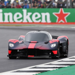 Aston Martin Valkyrie Takes To The Track For The First Time In Public At The 2019 British Grand Prix