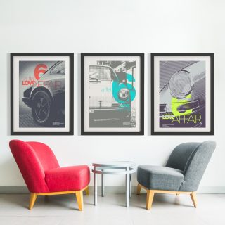 Treat Your Walls And Coffee Tables To Some Porsche Posters And Photo Books