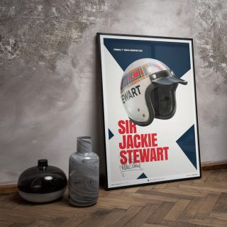 'The Flying Scot' Art Collection Celebrates Sir Jackie Stewart's First F1 Championship