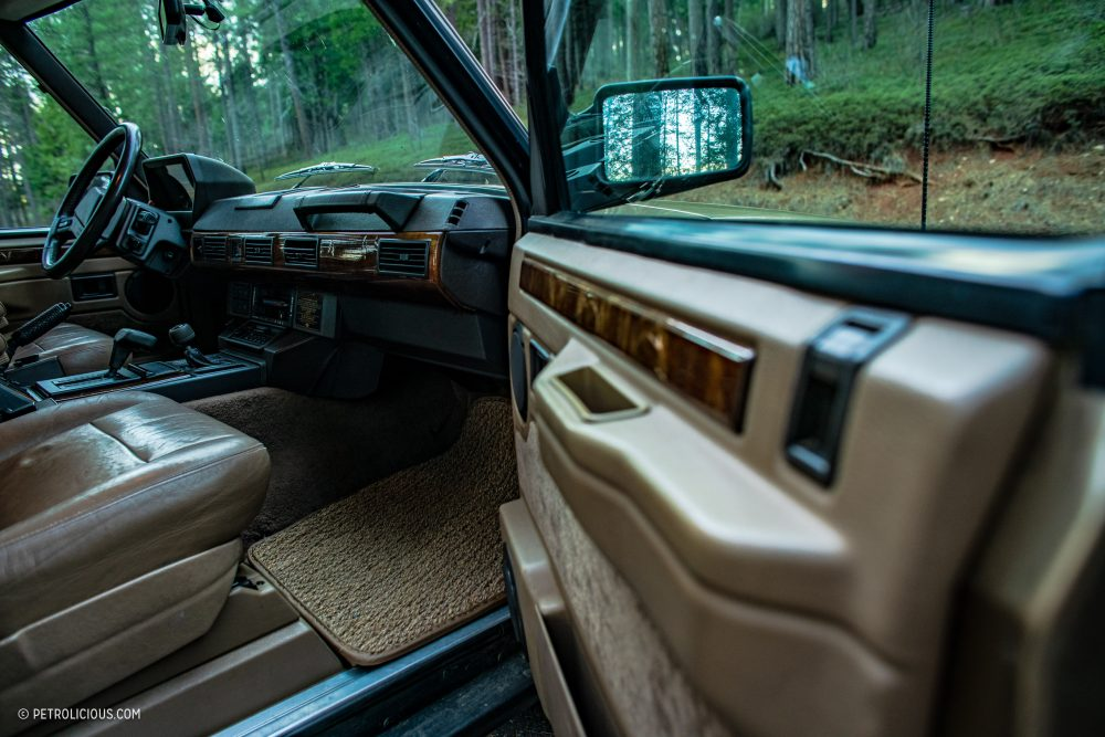 GALLERY: Go Behind The Scenes On Our Range Rover Classic