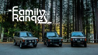 The Range Rover Classics: One Family, Three 4x4s