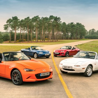 Mazda Launches Special Edition Miata MX-5 For The Model's 30th Anniversary