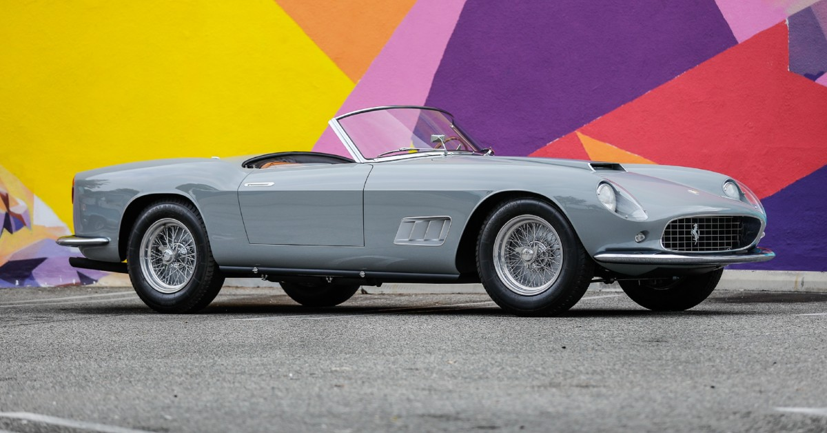 This Ferrari 250 Gt Lwb California Spider Is One For The Perfectionists Petrolicious