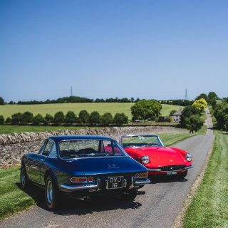 GT Time Machines: A Day In The Country With Ferrari 365 GTS & GTC Twins