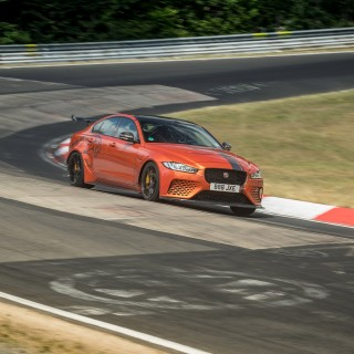 The Jaguar XE SV Project 8 Just Beat Itself At The Nürburgring