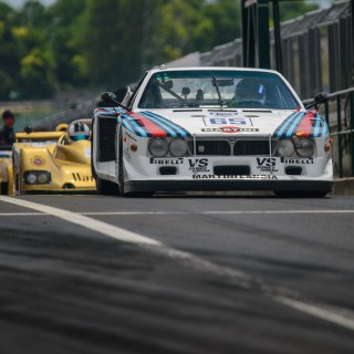 Hundreds Of Race Cars Came To Hungary's F1 Circuit To Celebrate And Reenact History
