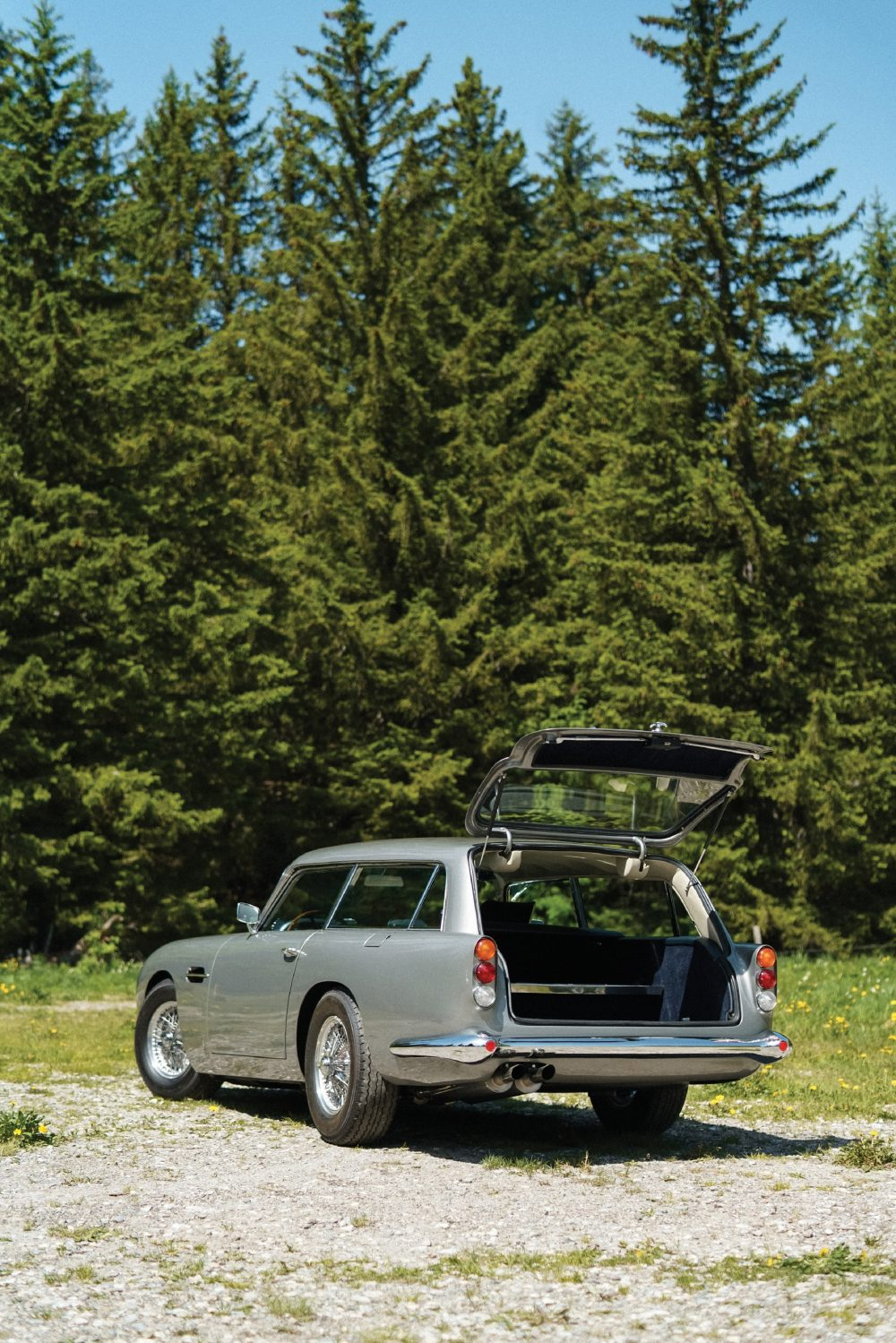 The Aston Martin DB5 Shooting Brake Is For The Bond Fan With