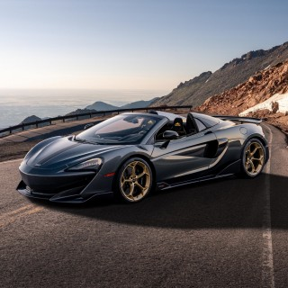 McLaren MSO Debuts Its New 600LT Spider Pikes Peak Collection