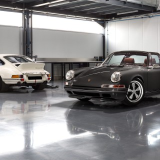 The Ateliers Diva Targa Is A Classic-Shape 911 In Carbon Fiber From A Paris-Based Porsche Specialist