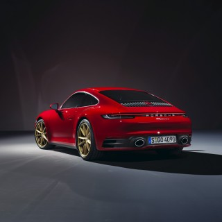 Porsche Has Revealed Its New Eighth Generation 911 Carrera Models. We're Loving The Gold Wheels!