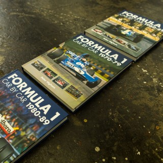 Fill Your Bookshelf With 30 Years Of Formula 1 Car Evolution
