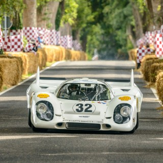 Porsche 917s Mingle With SAAB 93s When Classic Cars Come To Schloss Dyck For 'Classic Days'