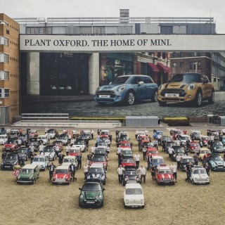 How many?! The Ten Millionth Mini Hits The Road After 60 Years Of Production