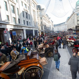The UK's Biggest Free Car Show Takes Places on London's First Ever Shopping Street, Now 200 Years Old