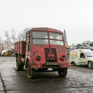 This 1940s Motul 'Vagabond' Truck Is About To Embark On A Momentous Journey From Paris To The Goodwood Revival