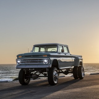 The Chevy Ponderosa Is A Custom Truck Built To Do Truck Things
