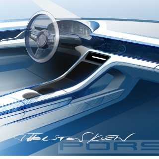 How Will The All-Electric Taycan Be Made To Feel Like A Porsche? Let's Start With The Interior...