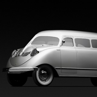 A Rare Art Deco Stout Scarab 'Minivan' Is Heading To The Concours Of Elegance This September